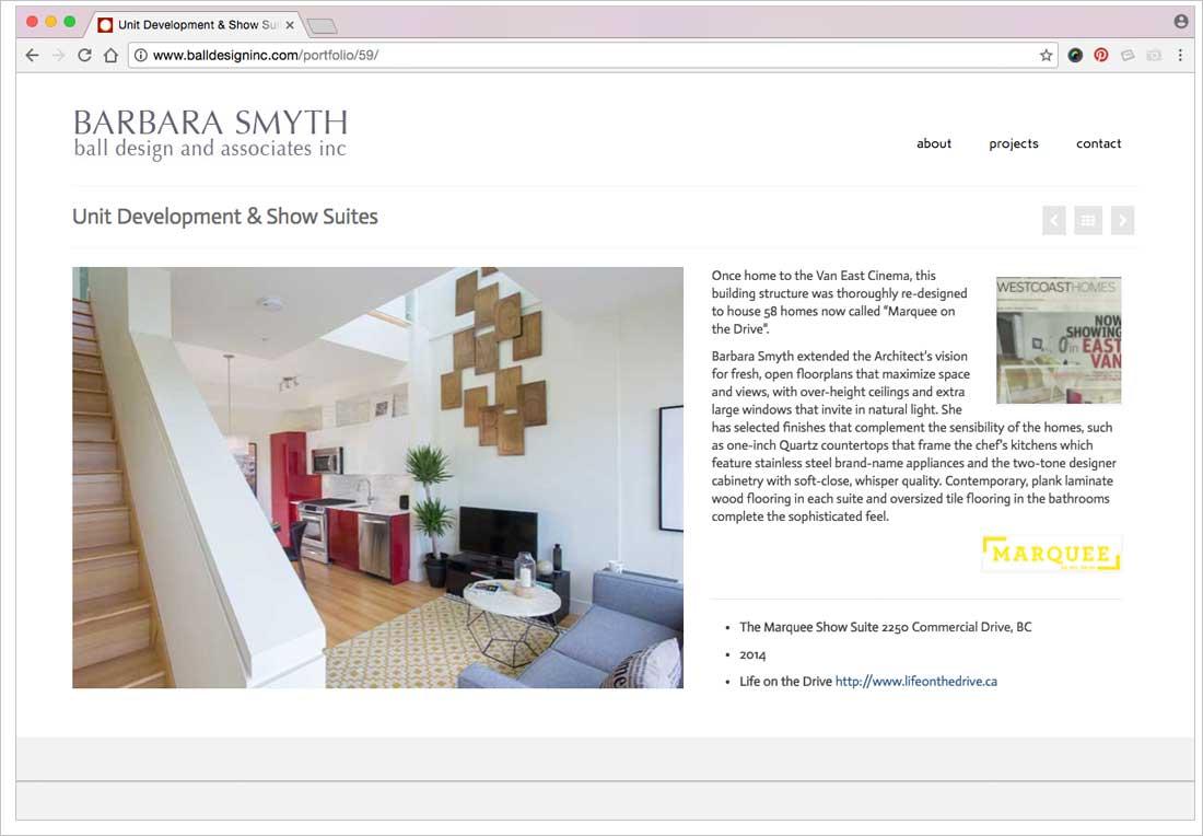 jibe designs website for ball design inc petra raschig graphic designer