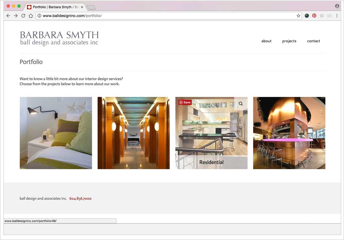 jibe designs website for ball design inc 2 petra raschig graphic designer