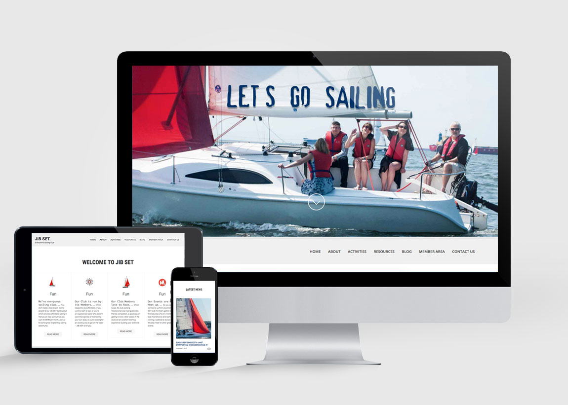 jibe designs port website by petra raschig graphic designer